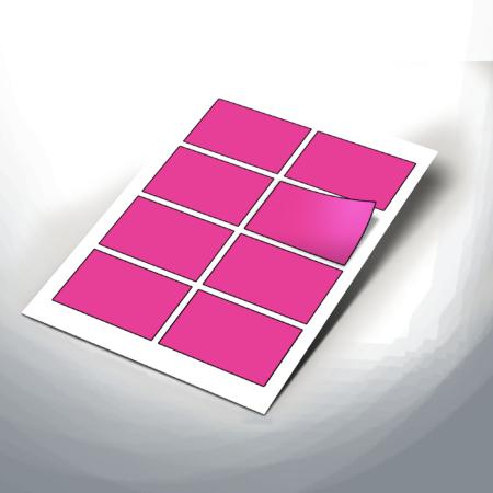 Medium 90x60mm Rectangle Stickers 6