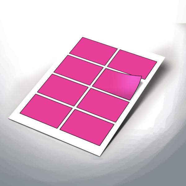 Medium 90x60mm Rectangle Stickers 3