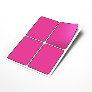 Sheet Labels 95x140mm Rectangle Stickers