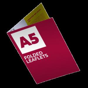 Folded Leaflet / Folded Brochures