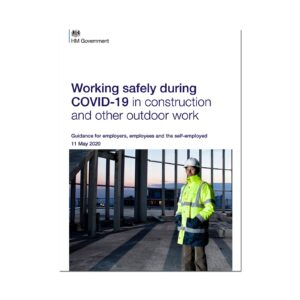 Printed Guidance Document – Working safely during coronavirus (COVID-19) in construction and other outdoor work