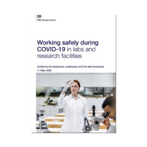 Printed Guidance Document – Working safely during coronavirus (COVID-19) in labs and research facilities