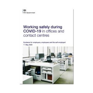 Printed Guidance Document – Working safely during coronavirus (COVID-19) in offices and contact centres