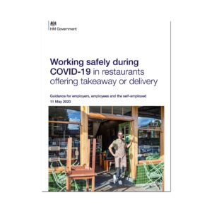 Printed Guidance Document – Working safely during coronavirus (COVID-19) in restaurants offering takeaway or delivery