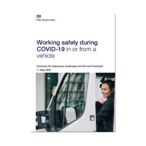 Printed Guidance Document – Working safely during coronavirus (COVID-19) in vehicles