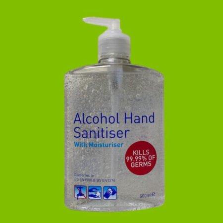 A-line Hand Sanitiser Gel 70% Alcohol 500ml 4
