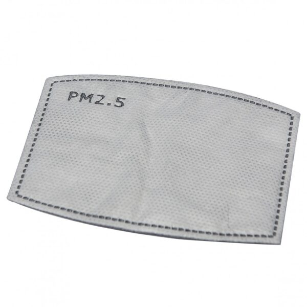 PM2.5 Replaceable Carbon Filters For Face Masks - Pack of 10 2