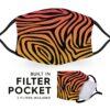Funk Zebra Print - Reusable Adult Face Masks - 2 Filters Included 2