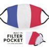 France Flag - Adult Face Masks 4