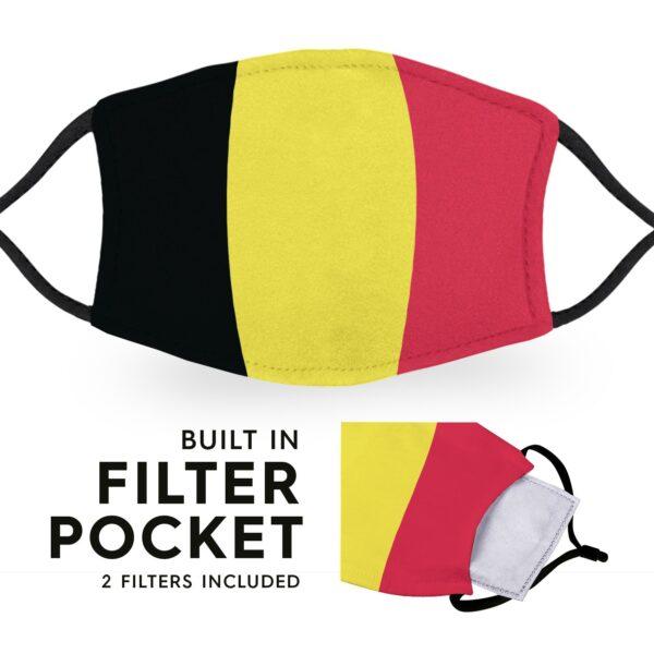 Germany Flag - Adult Face Masks 3