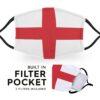 England Flag - Childrens Face Masks 4