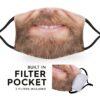Smiley Beard - Adult Face Masks 4