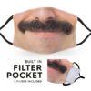 Moustache Smile - Childrens Face Masks 4
