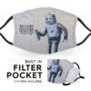 Banksy Robot - Child Face Masks - 2 Filters Included 2